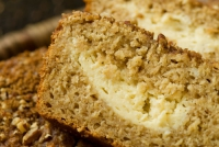 Applesauce Pecan Bread
