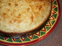 Impossible breakfast pie