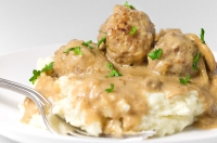 Meatballs In Sour Cream Sauce