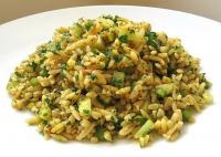 Orzo Salad With Sesame Dressing