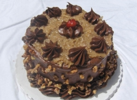Upside-Down German Chocolate Cake