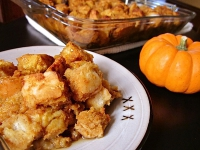Autumn Bread Pudding