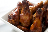 Chicken Wings In Honey Sauce