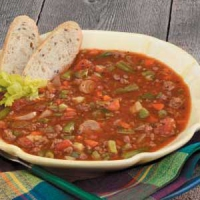 Quick Vegetable Beef Soup
