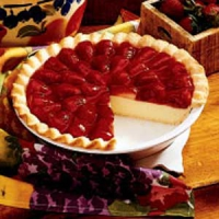 Strawberry And Cream Pie