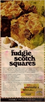 Fudgie Scotch Squares