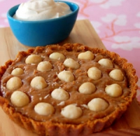 Lime And Macadamia Nut Tart