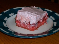 Strawberry Jello Cake