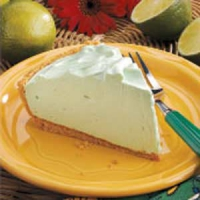 Mile-high lime pie