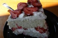 Strawberry Swirl Cake