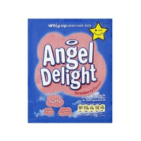 Strawberry angel delight