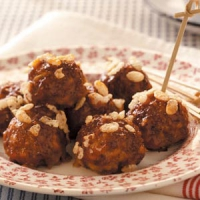 Barbecued Meatballs