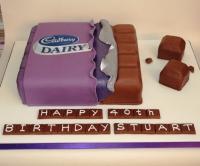 Milk Chocolate Bar Cake