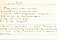 Ham And Cheese Ball