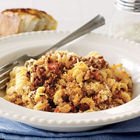 Beef And Macaroni Casserole