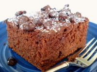 Chocolate Chip Applesauce Cake