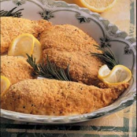 Lemon baked chicken