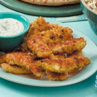 Nutty Chicken Strips