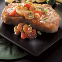 Zesty italian pork chops