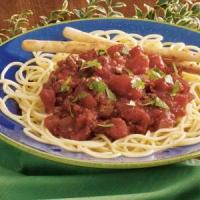 Mexican Spaghetti