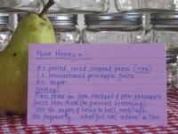Pear Honey