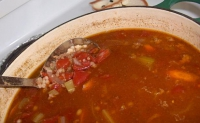 Hamburger Barley Soup