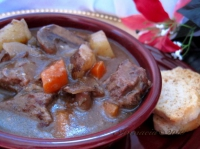 Herbed simmered beef stew