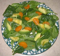 Spinach-orange toss