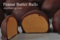 Diabetic Peanut Butter Balls