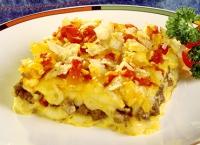 Hamburger And Potato Casserole