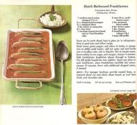 Barbecued Frankfurters