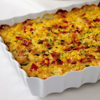 Corn And Rice Casserole