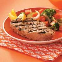Grilled Tuna Steaks