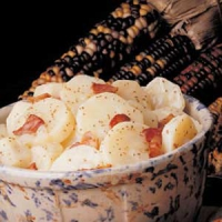 Hot Baked Potato Salad