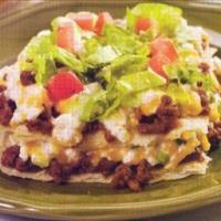 Layered Taco Casserole