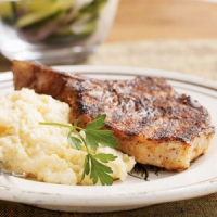 Skillet Barbecue Pork Chops