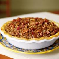 Upside-Down Caramel Apple Pie