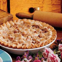 Crumbly Apple Pie