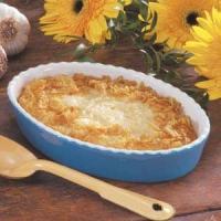 Garlic Cheese Grits