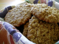 Oatmeal Cinnamon Cookies