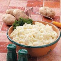 Sunday Dinner Mashed Potatoes
