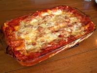 Microwave Lasagna
