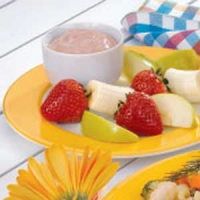 Chocolate Cream Fruit Dip