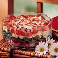Layered Spinach Salad