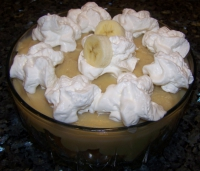 No Bake Banana Pudding