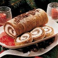 Pecan log roll