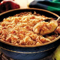 Apple Cheese Crisp