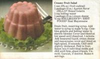 Apricot Jello Salad