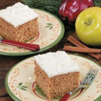 Christmas Applesauce Cake