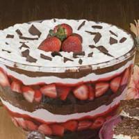Punch bowl cake